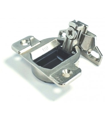 Compact concealed hinge and plate face fix BLUM 33, 110° Blum