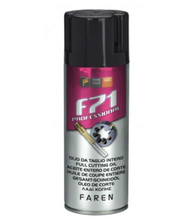 Olio spray intero per taglio metallo F71 Art.971003 Faren