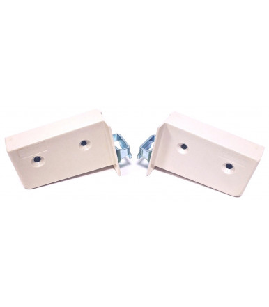 Hanging visible pair of brackets for wall units fixing with screws 80014 Camar