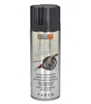 Pulitore contatti in spray F33 Art.1AO400 Faren