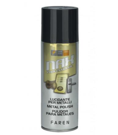 Pulitore lucidante in spray per metallo NAX Art.983003 Faren