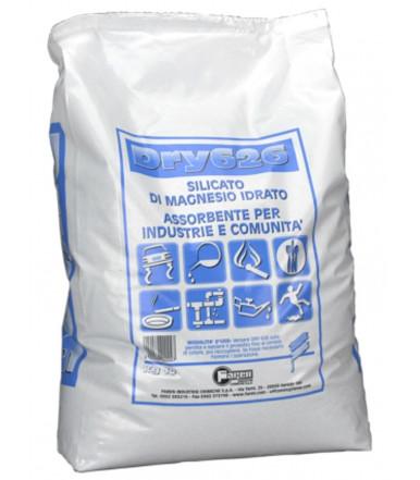 Faren Art.220004 DRY 626 Absorbente de seguridad granulado a base de silicato de magnesio
