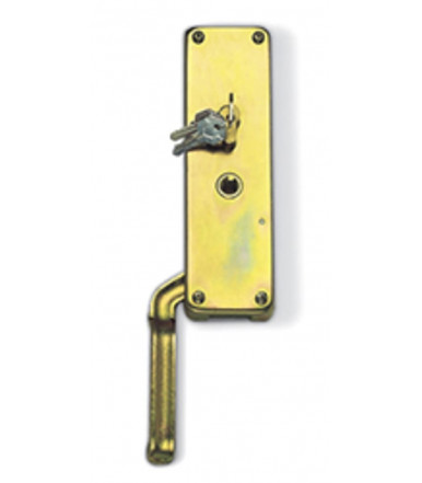 Preseted key opening - right/left lock for 30x10 rod Rolling Center 95