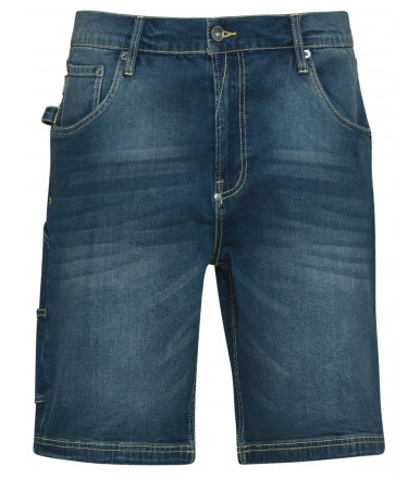 Pantalone bermuda-jeans Diadora Utility Bermuda Stone Dirty washing