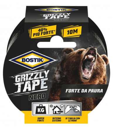 Bostik Grizzly Tape gray for repairs 10mt x 50mm