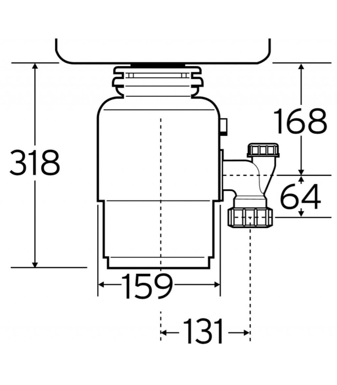 InSinkErator Model 40 Food waste disposer