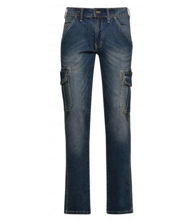 Pantalone jeans da lavoro Diadora Utility Pant Cargo Stone