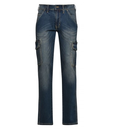 Jeans work trousers Diadora Utility Pant Cargo Stone