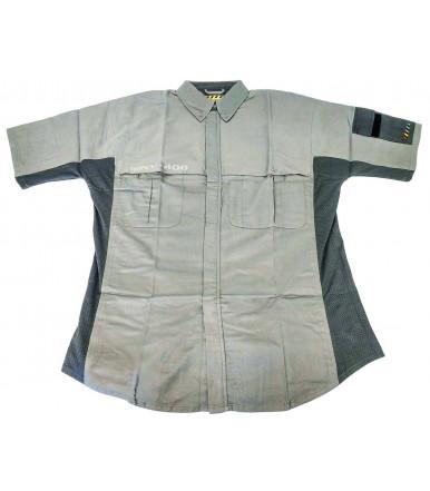 Camisa de trabajo con manga corta Evolution Manovre MNV-400