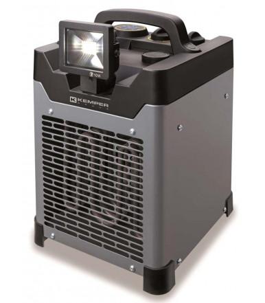 Kemper Group elektrischer Warmlufterzeuger 3,3 kW, Heißluftgeneratoren Linie