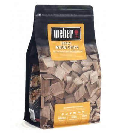 Weber wood Chips for smoker - Beech Wood 17622