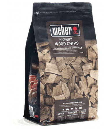 Weber wood Chips for smoker - Hickory 17624