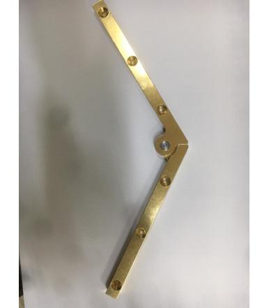 Flaches Scharnier für Klappe 180° 7-12 mm x 250 mm