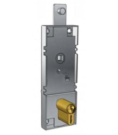 Serratura per porta basculante con levetta sbloccaggio interna B561.0810 Prefer