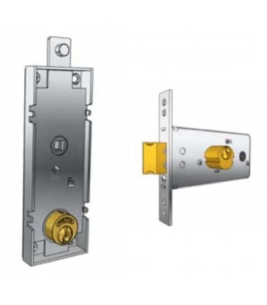 Prefer B551.0810 locks for overhead garage doors with round cylinder