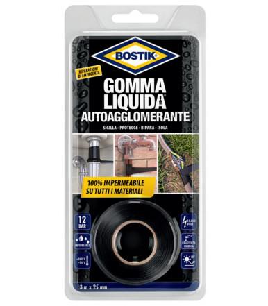 Nastro Autoagglomerante impermeabilizzante Bostik Gomma Liquida 3 mt