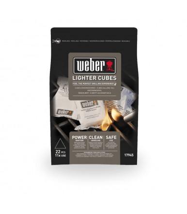 Cubetti accendifuoco standard Weber 17945