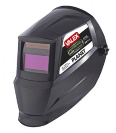 Planet darkening helmet mask for Valex welding