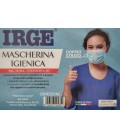 Pieces 5 - White double layer IRGE non-DPI face mask