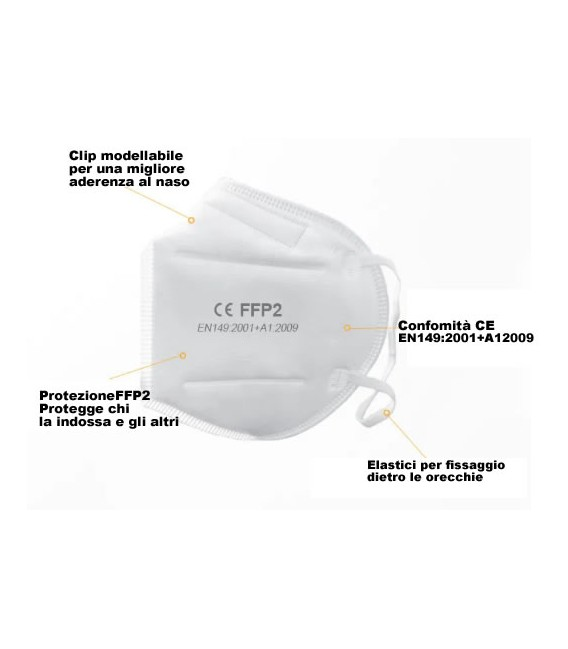 Sir little mask round respirator FFP1 NR with carbon