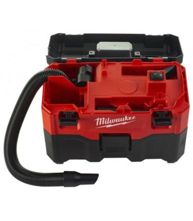 Aspiratore portatile solido/liquido da 18V Milwaukee M18VC2-0