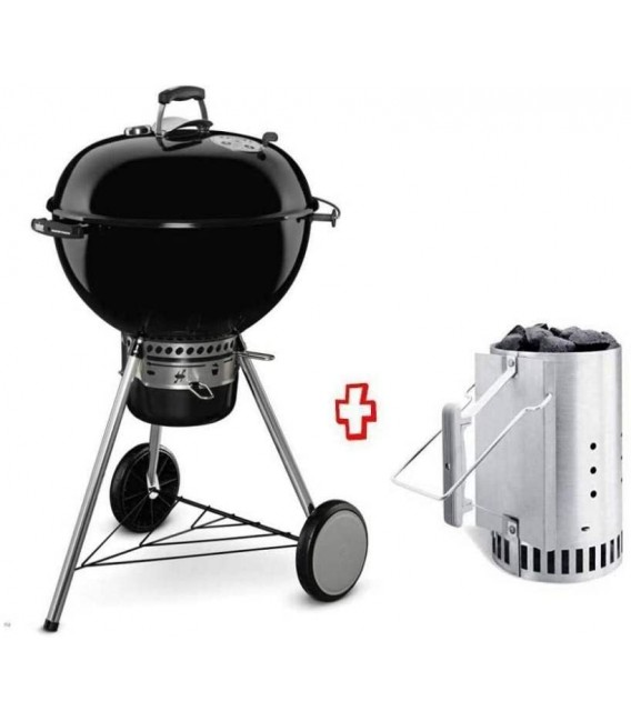 Weber Master-Touch GBS Premium E-5770 Charcoal Barbecue 57 cm Black