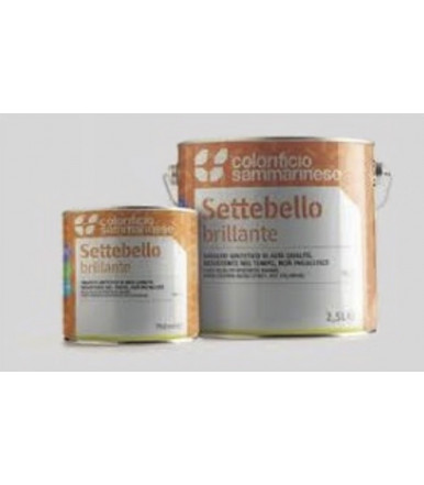 Colorificio Sammarinese multi-purpose glossy synthetic enamel Settebello Brillante