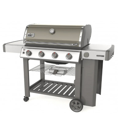 Gas barbecue Weber Genesis II E-310 GBS Smoke gray