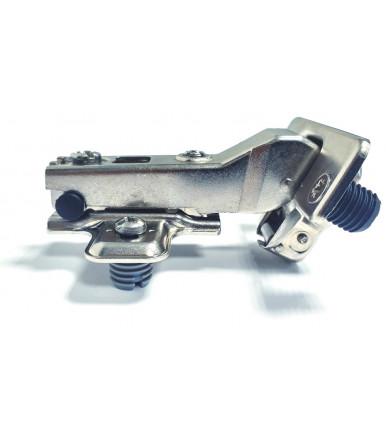 Ferrari Clip Scharnier 35 mm mit Sockel für Schräge Holztür