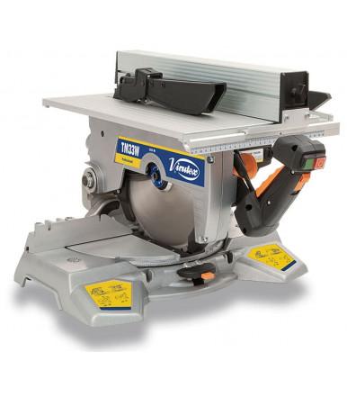 Troncatrice inclinabile 1500W con laser Virutex TM33W