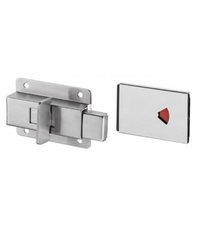 Decentralized wall hinge for 8-10 mm glass door code IN.05.306 JNF in stainless steel