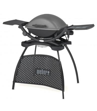 Barbecue elettrico Weber Q2400 con stand, Grigio scuro