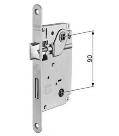 Serratura AGB per porta interna Centro con catenaccio e chiave