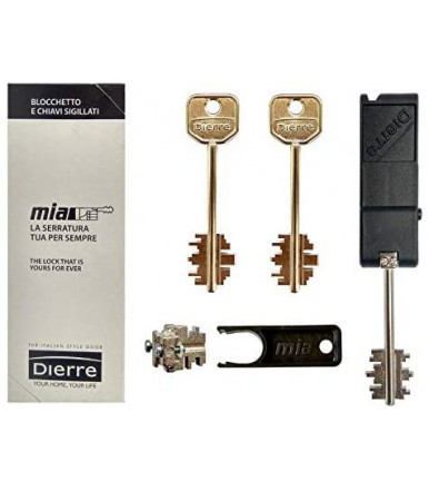 Block Kit with 3 keys Atra System for Mia DIERRE art. BLO3130