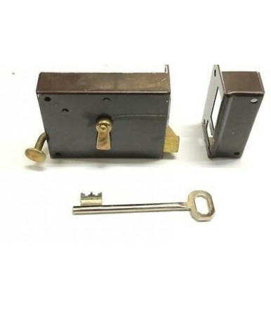 Bonaiti Art. 185 Vertical rim lock with bolt and latch