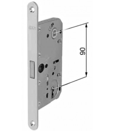 AGB magnetic lock for Polaris 2XT door with key