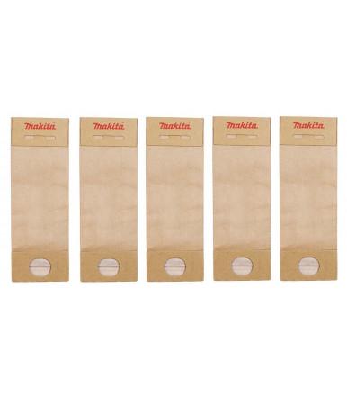 Paper bag of 5 pcs 193712-3 Makita for sander