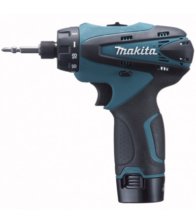 Makita DF030DWE drill driver with Clutch