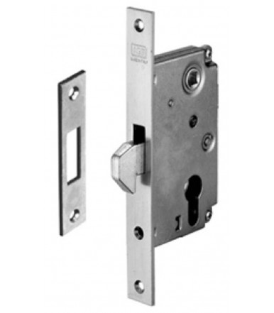 Fixed hook lock AGB for metal profile B00910