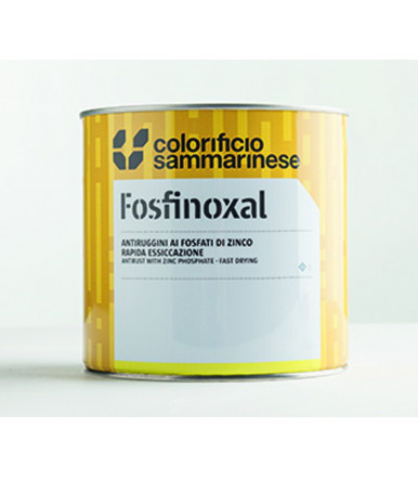 Colorificio Sammarinese Gray premium anti-rust paint with zinc phosphates Fosfinoxal