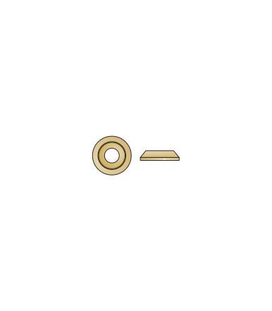 Rondella conica Tecfi in acciaio zincato giallo, per viti TT Woodpecker®