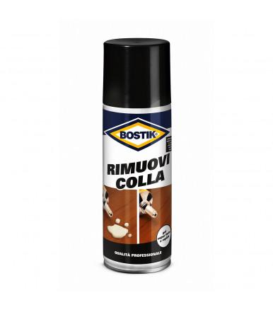 Spray Bostik Rimuovi Colla efficace contro i residui di colla e adesivi