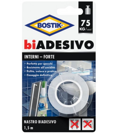 Bostik double-ADHESIVE for interiors TAPE 1,5 m in blister pack