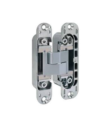 Recessed hinge adjustable on 3 axes ECLIPSE 3.2 AGB matt chrome