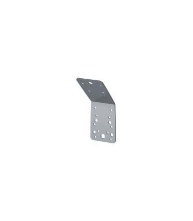 Piastra Angolare a 135° pesante, in acciaio Inox A2