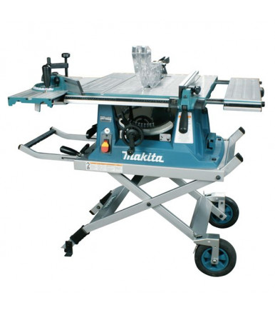 Makita MLT100 table saw complete with trolley COD. JM27000300