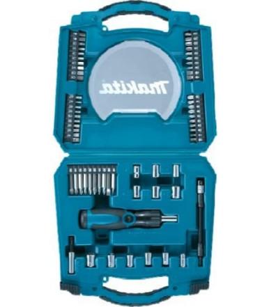 Makita manual ratchet screwdriver set art. D-42020 consisting of pcs. 65