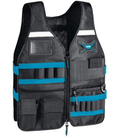 Makita E-05636 work vest vest comfortable and functional adjustable pockets