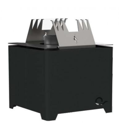 Multi-purpose portable fireplace Q pellet heater