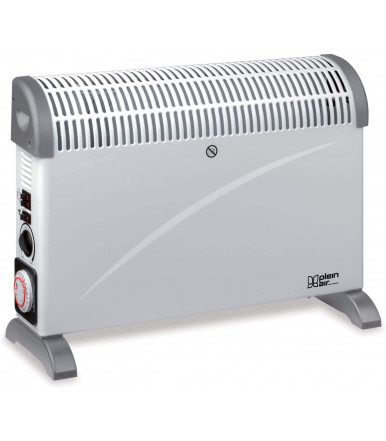 Convex turbo free-standing electric fan heater 2000 W